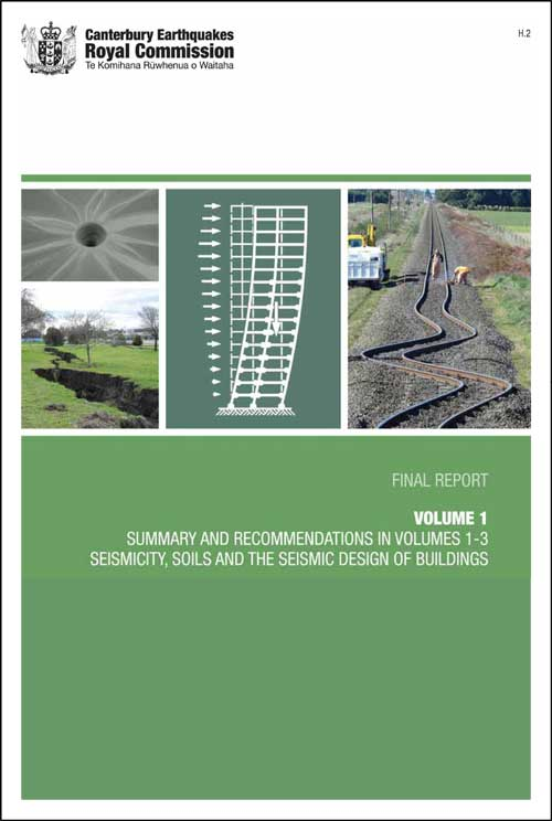 Cover image of Volume 1 Summary and Recommendations in Volumes 1-3, Seismicity, Soils and the Seismic Design of Buildings